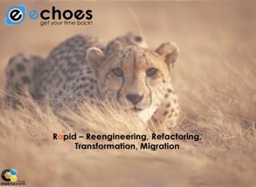 Echoes : transformer son code logiciel pour de nouveau innover