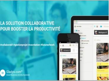 Gladys : gestion de projet collaborative et smart assistant