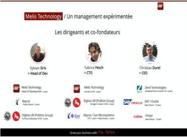 Melis Technology : la plateforme digitale qui mise sur les standards du Web