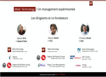 Melis Technology : la plateforme digitale qui mise sur les standards du Web