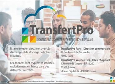 Transfert Pro : protéger ses données en France