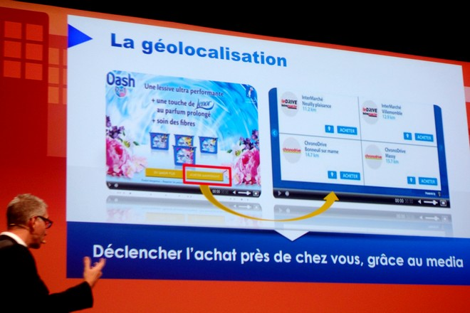 Procter & Gamble épaté par les résultats de la géo-localisation associée à la publicité