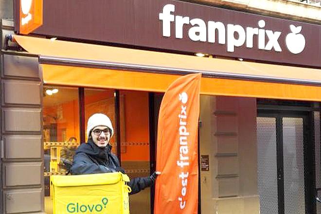 Franprix livre les courses et les repas en moins d'une heure sur Paris, Neuilly et Levallois