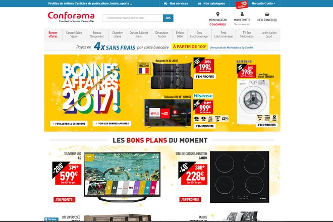 Projet agile payé au forfait par Conforama pour intégrer une place de marché