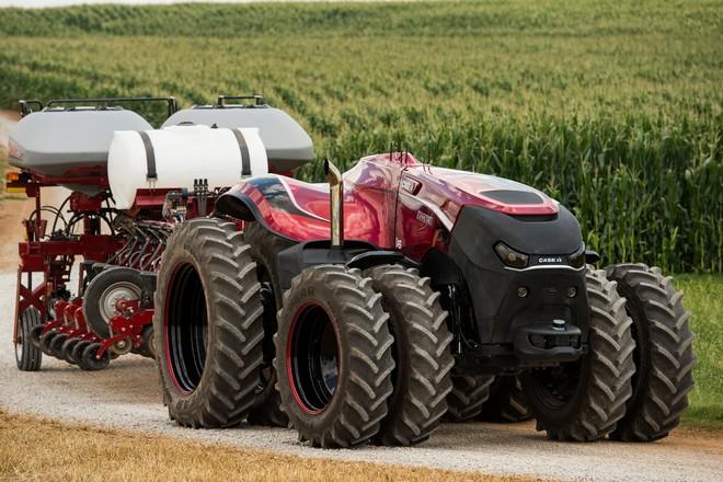 Tracteur autonome pour agriculteur du futur