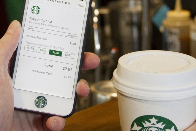 Starbucks introduira la commande via mobile fin 2017 en France