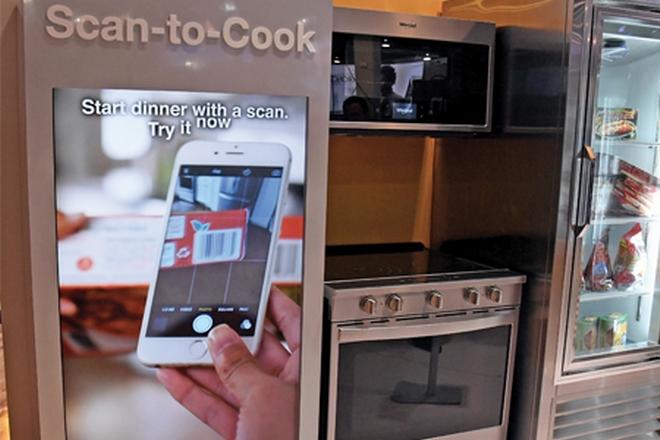whirlpool cap sur la cuisine connect e la revue du digital. Black Bedroom Furniture Sets. Home Design Ideas