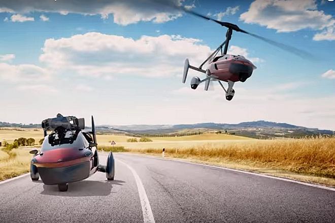 Les voitures volantes : une réalité dans 5 ans chez 10 constructeurs