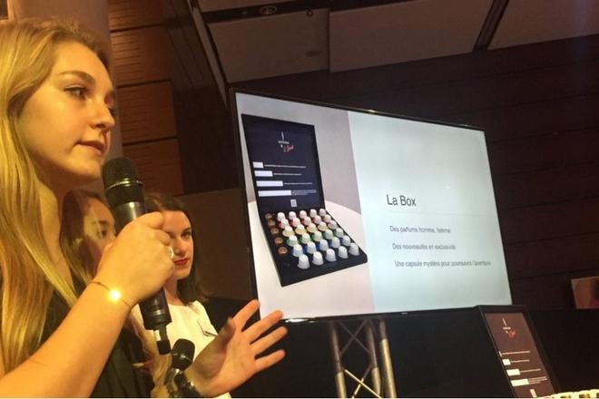 Cosmetic 360° : parfums et expérience digitale du maquillage lors du hackathon