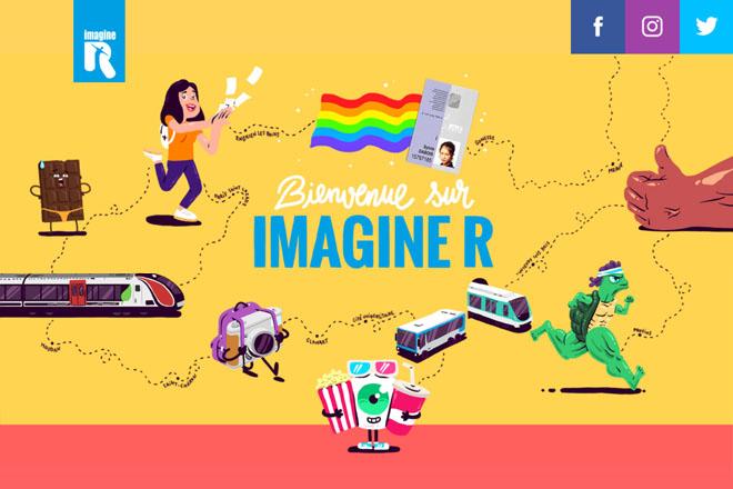 imagine R, le forfait de transport étudiant, lance son nouveau site web