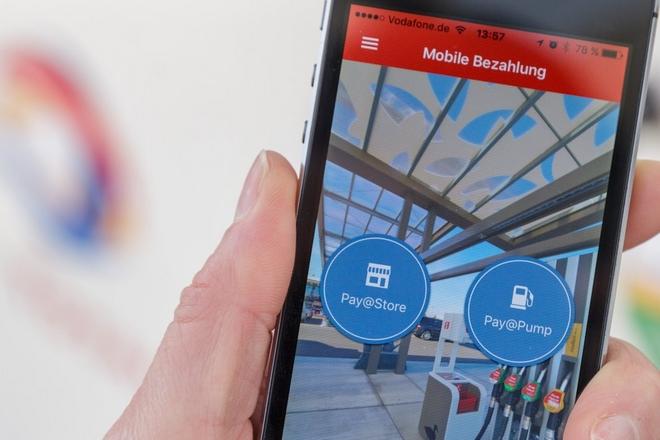 le mobile t l commande de la station service connect e chez total la revue du digital. Black Bedroom Furniture Sets. Home Design Ideas