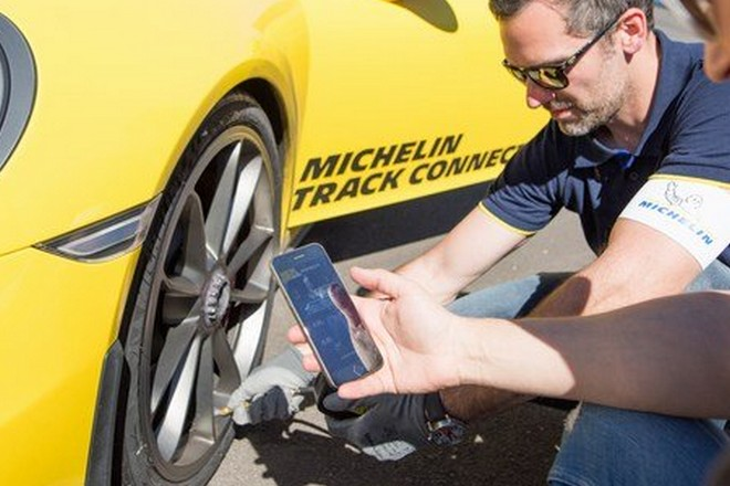 Michelin : premier pneu connecté pour véhicule de tourisme sportif