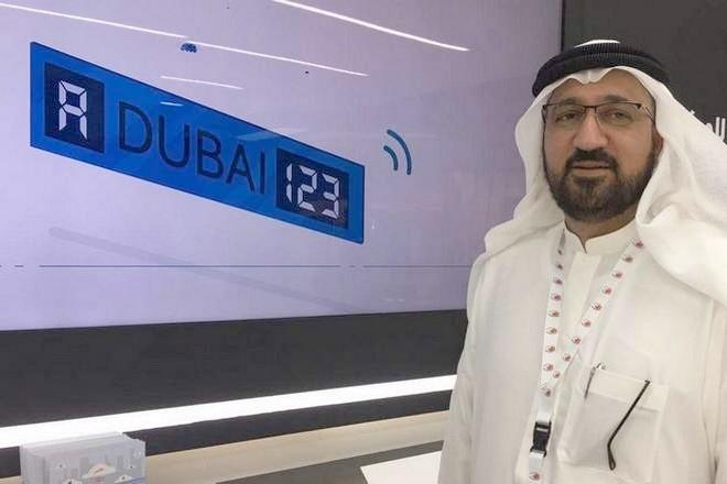 La plaque d'immatriculation connectée testée à Dubaï