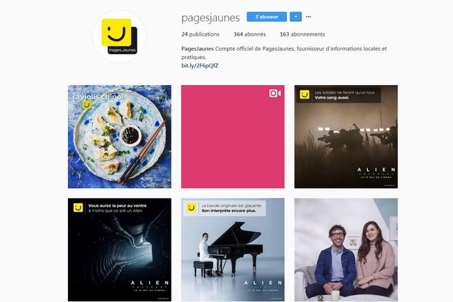 PagesJaunes choisit les micro influenceurs pour relancer son compte Instagram