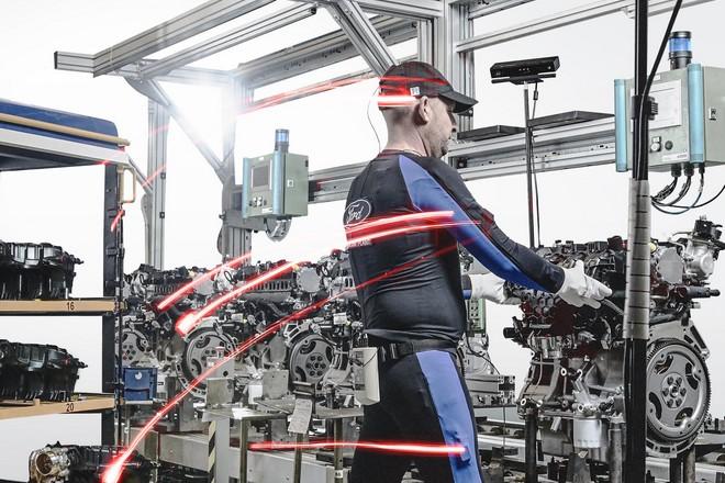 Ford trace les mouvements du corps pour améliorer l'assemblage auto