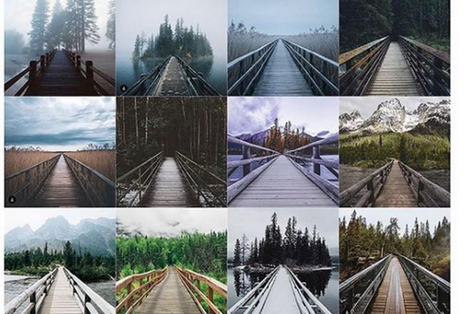 Instagram : paradis des photos qui se ressemblent