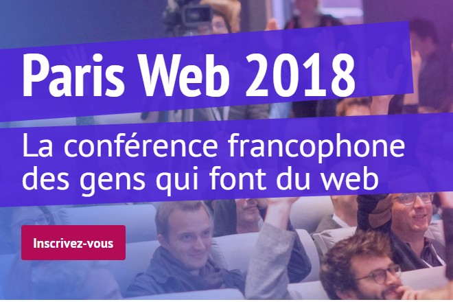 Paris Web 2018 @ IBM Client Center | Bois-Colombes | Île-de-France | France