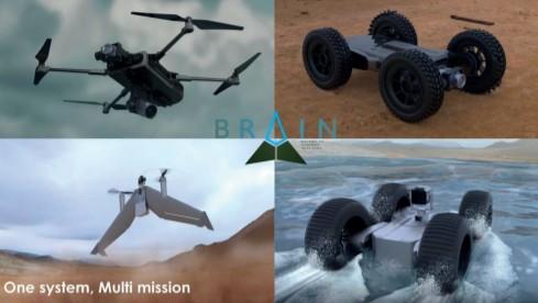Les drones de tout calibre plébiscités par l'innovation militaire française Brain-Drone-multi-fonctions-BFX-