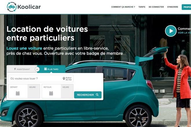 koolicar jette l ponge dans la location de voitures entre particuliers la revue du digital. Black Bedroom Furniture Sets. Home Design Ideas