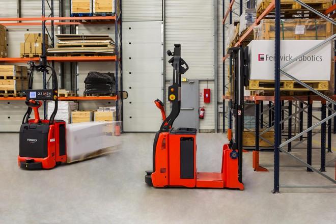 Amazon mise sur un spécialiste français de la robotisation d'entrepôts