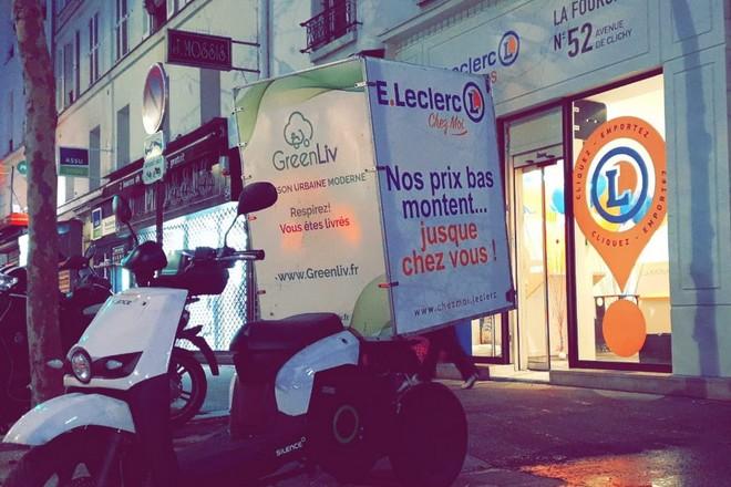 E.Leclerc inaugure son premier point de retrait dans Paris