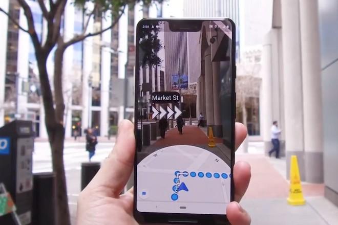 Google Maps devient un guide en réalité augmentée