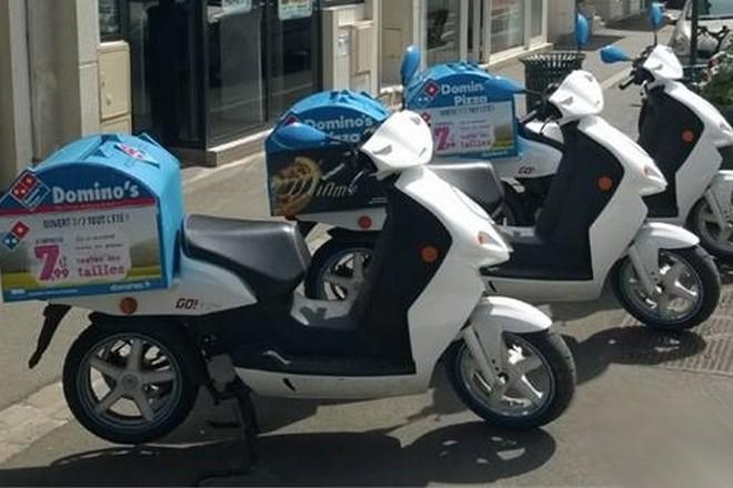 Domino's Pizza suit ses deux roues électriques à la trace grâce à l'IoT à Lyon