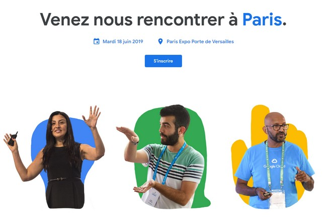 Google Cloud Summit Paris 2019 @ Parc des expositions