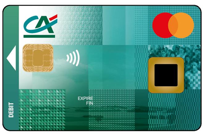 Carte Bleue Mastercard Credit Agricole.Le Credit Agricole Experimente Une Carte Bancaire