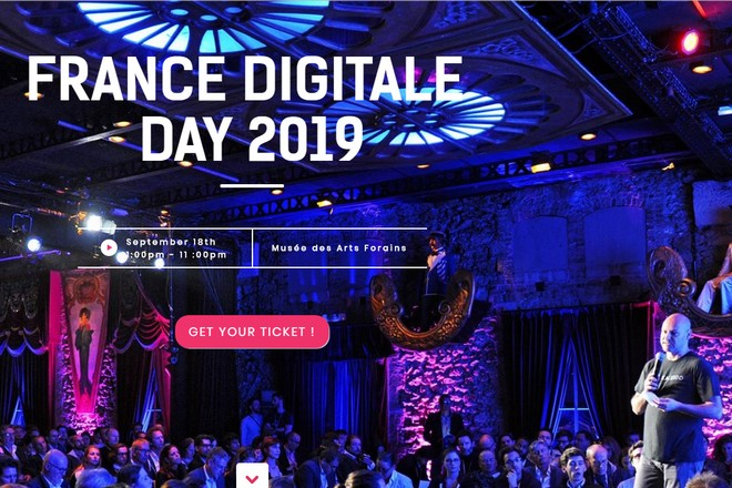 France Digitale Day 2019 @ Musée des arts forains