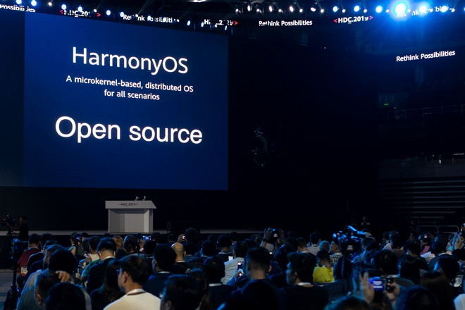 Le chinois Huawei présente son concurrent d'Android, HarmonyOS