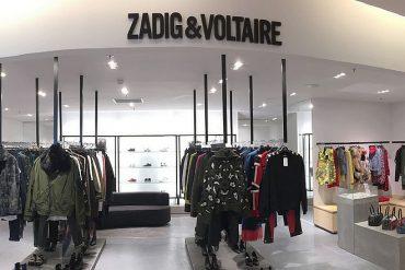 L'enseigne de mode Zadig & Voltaire rénove le réapprovisionnement de ses magasins