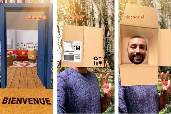 Leboncoin promeut son service de livraison via la réalité augmentée sur Snapchat