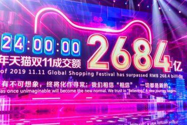 Alibaba bat son record pour ses soldes géantes avec près de 35 milliards d'euros de ventes