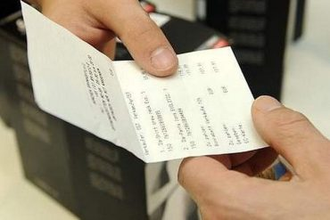 Vers l'interdiction du ticket de caisse en magasin pour les petits montants