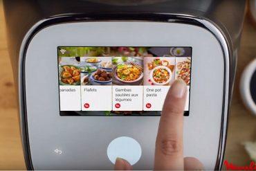 Moulinex ajoute des écrans tactiles à son multicuiseur et à son robot cuiseur connectés