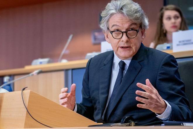 Thierry Breton plaide pour le partage des données non personnelles en Europe