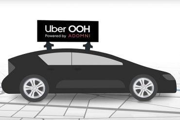 Uber prépare ses débuts dans la publicité via des écrans digitaux
