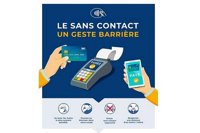 Le paiement sans contact porté à 50 € à partir du 11 mai