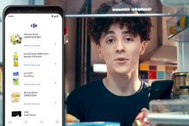 Carrefour propose les achats en e-commerce alimentaire effectués à la voix avec Google