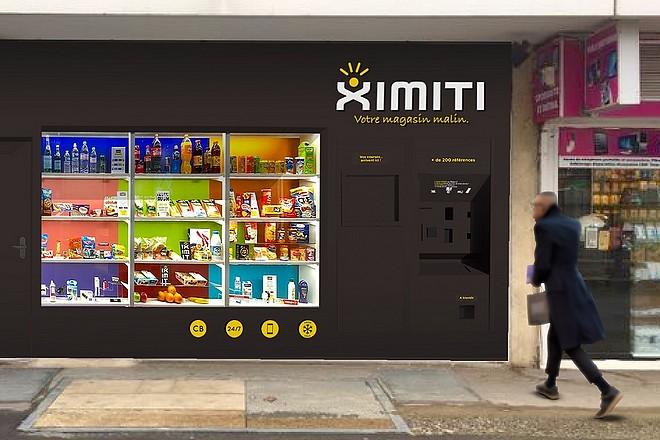 Le magasin distributeur automatisé de Ximiti monte doucement en puissance