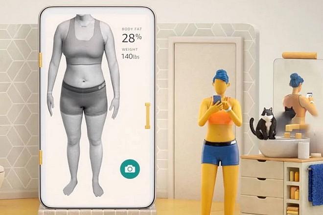 Une IA d'Amazon visualise l'effet de la prise de graisse sur le corps