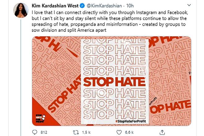 Des célébrités américaines gèlent leur compte Instagram pour faire pression sur Facebook