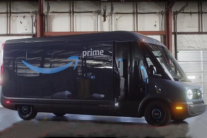 Amazon présente son véhicule de livraison électrique intégrant Alexa