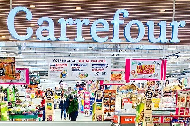 Carrefour sanctionné par la Cnil par 3 millions d'euros d'amende pour non respect du RGPD