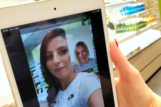 La vente en streaming vidéo convainc un nouvel adepte avec l'enseigne Nocibé