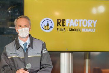 Renault transforme son usine de Flins pour reconditionner et recycler les véhicules d'occasion