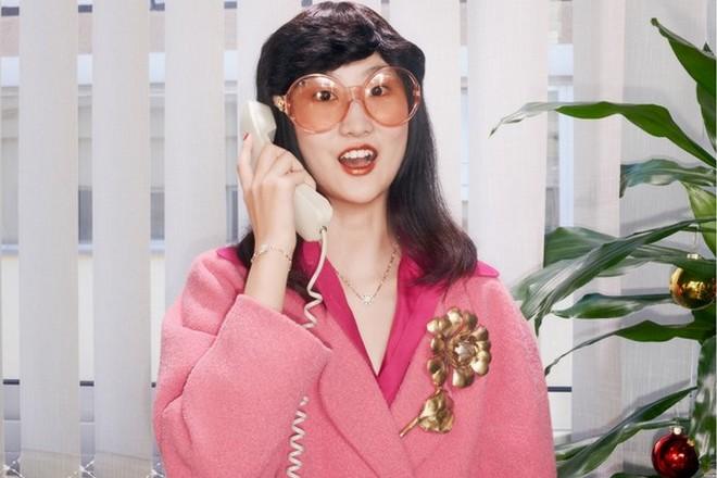La marque de luxe Gucci commercialisée dans le Pavillon e-commerce d'Alibaba