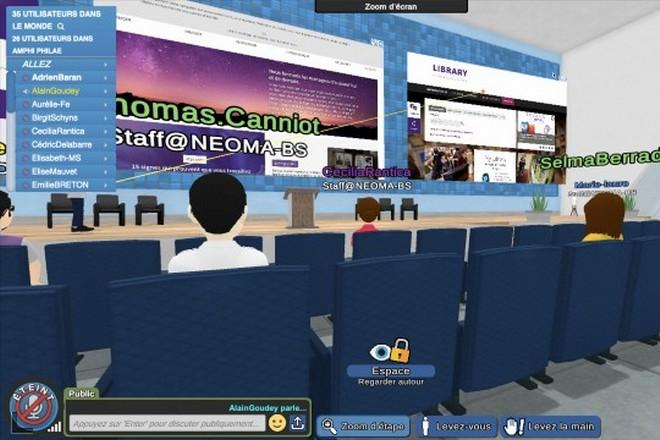 L'école Neoma forme au management des services à l'ère du digital avec L'Oréal, Leclerc et Fauchon