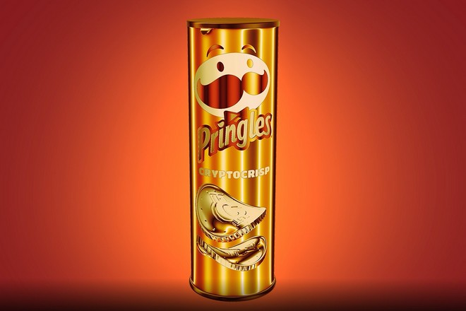 Les chips Pringles, érigées en objets de collection numériques grâce aux NFT